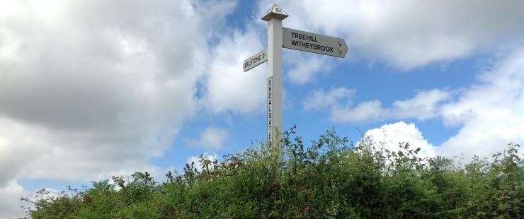 Biking to Dartmoor from Wheatland Farm